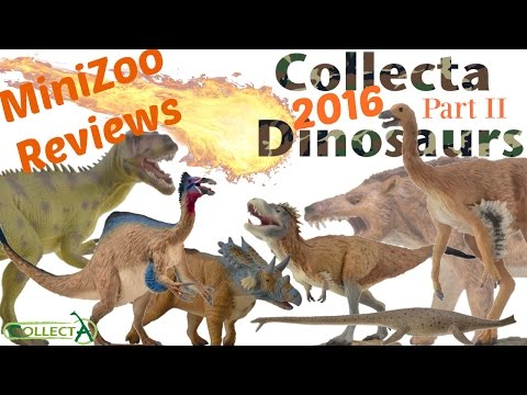 CollectA 2016 Prehistoric Animals Part II
