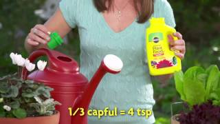 How to Use Miracle Gro Liquid All Purpose Plant Food Concentrate