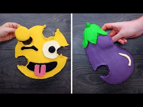 12 Hilarious Emoji Pull Apart Cupcake Designs