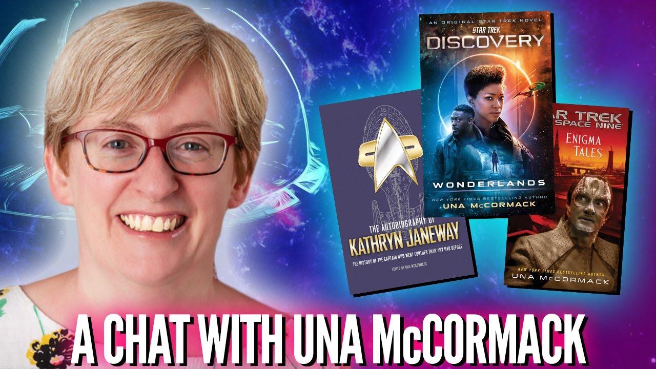 Star Trek Discovery author Una McCormack on Gay Garak, Burnham's Identity, & Being Trek's First Lady