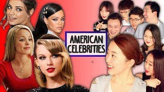 More Koreans React to American Female Celebrities