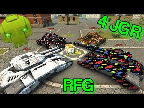 Tanki Online - 4 Juggernaut Fighting For Golds!