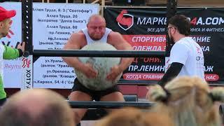 Комсомольск-на-Амуре 2017. Силовой экстрим на набережной 1.