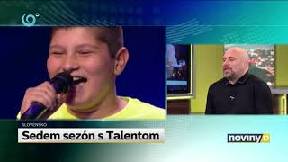 Sedem sezón s Talentom (ČESKO SLOVENSKO MÁ TALENT)
