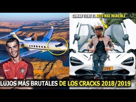 ASÍ SON LOS LUJOS MÁS EXTRAORDINARIOS DE LOS FUTBOLISTAS 2018-2019 | AUTOS, JETS PRIVADOS,YATES,ETC
