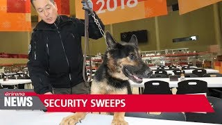 PyeongChang Counter-Terrorism & Safety Center holds security sweep to ensure safety in Olympic...