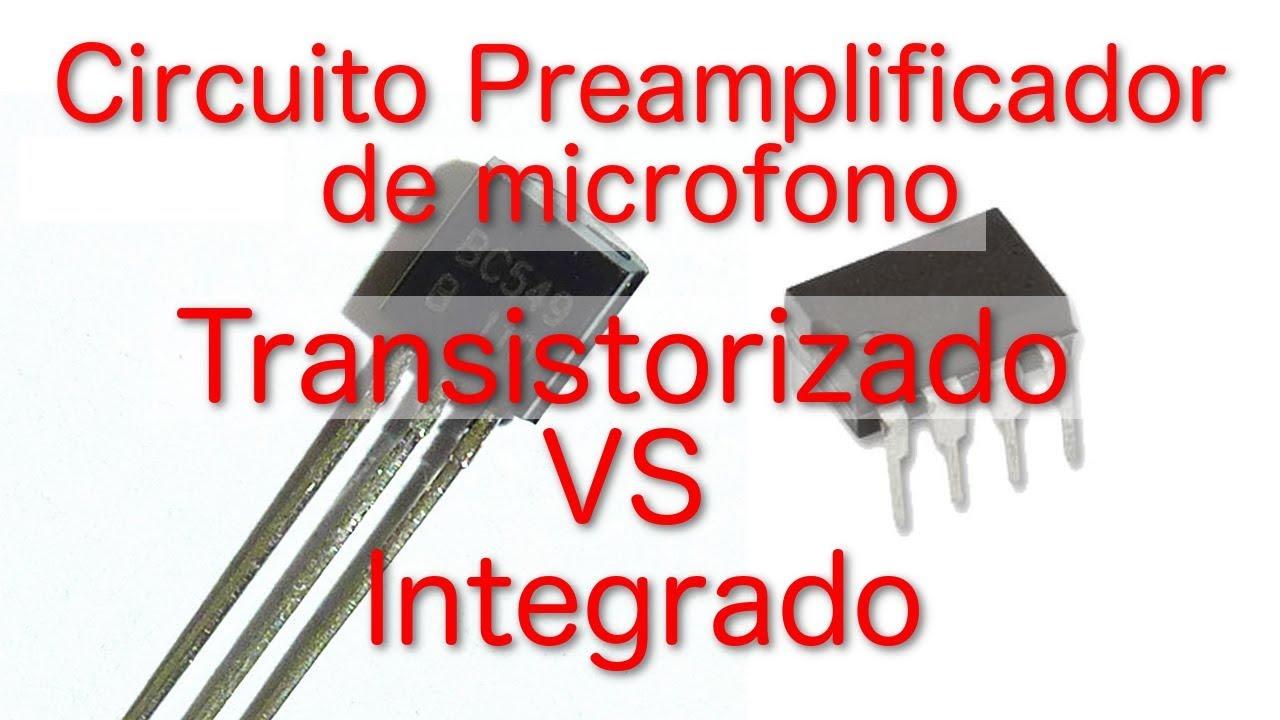 Circuito Preamplificador De Microfono Transistorizado Vs Here Is A Very Simple Bc549c Transistor Amplifier Circuit Using An Integrado Eleccion