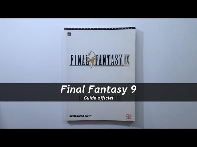 Final Fantasy 9 - Guide officiel