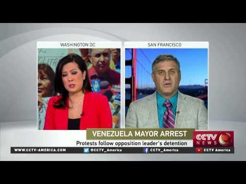 Prof. Arturo Lopez-Levy of NYU discusses Venezuela mayor arrest