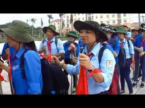 Hoạt động Trò chơi lớn - Trại huấn luyện Trần Quốc Toản tỉnh Bắc Giang 2016.