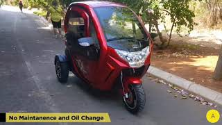 AM Cool Electric Tricycle