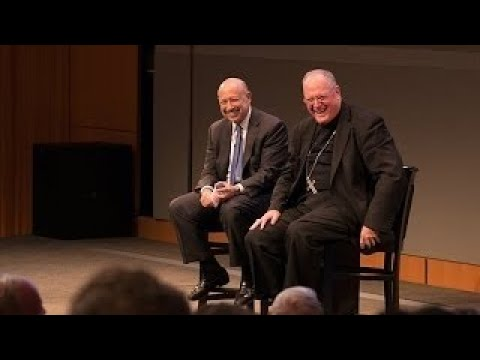 Archbishop of New York Timothy Dolan and Lloyd Blankfein: Talks at GS Session Highlights
