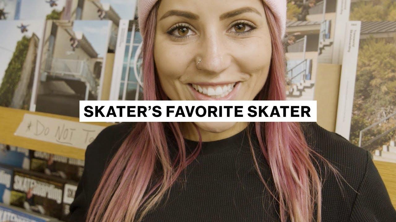 Skater's Favorite Skater     Leticia Bufoni     Transworld Skateboarding