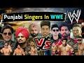 Punjabi Singers In WWE || Punjabi Singers Fight || Funny Conservation || The Mohsin Tv