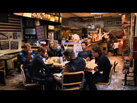 The Avengers (2012) Shawarma Post-credits Scene