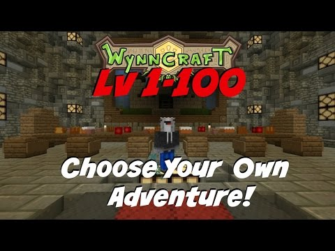 Wynncraft Gavel: Lv 1-100 Leveling Guide (Choose Your Own Adventure!)