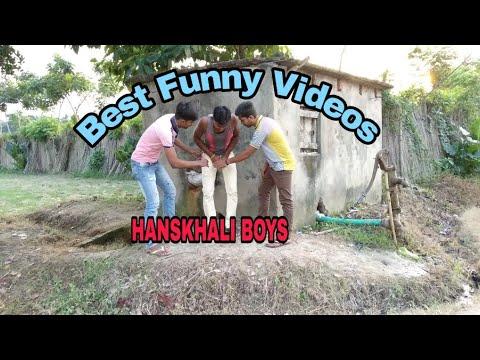 Latest Funny Videos stupid People doing stupid things 😂😂| Hanskhali Boys|😂😂😂
