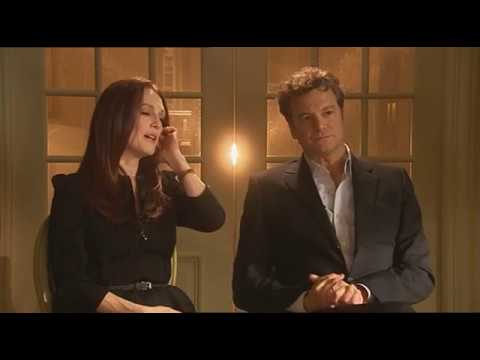 Colin Firth's Most Difficult  in A Single Man Was Kissing Julianne Moore. Why? English Subs