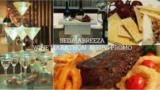 Seda Abreeza Davao Wine Marathon & Ribs Promo || Busyqueenphils Food Guide