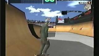 ESPN X Games Skateboarding gameplay