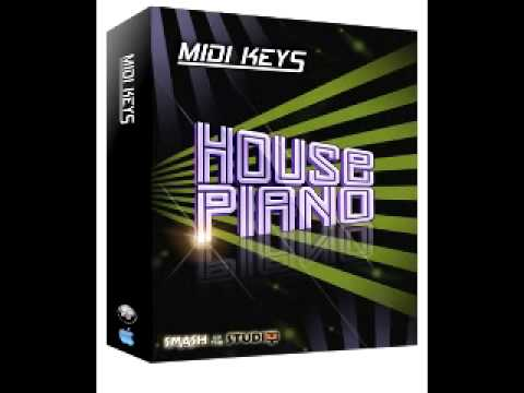 Midi keys house piano sample packs from for Piano house anthems