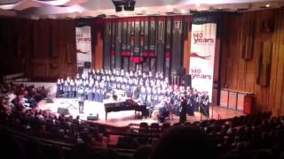 Some Nights Affies girls choir