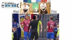 Virtuelle Fußball-EM, Gruppe D: Rumänien - Tschechien