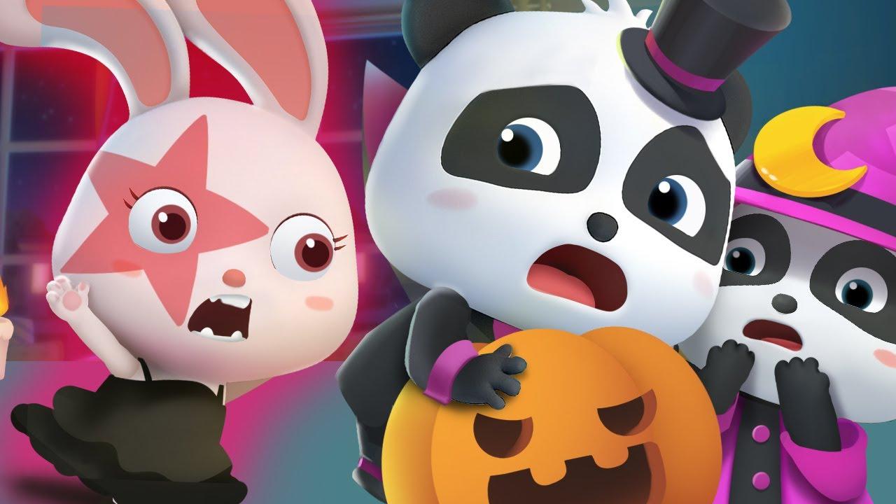 Happy Halloween | Trick or Treat | Haunted House Song | Nursery Rhymes | Kids Songs | BabyBus