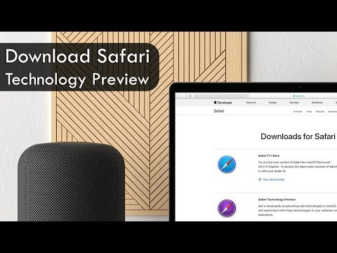 How to Download Safari Technology Preview on macOS - YouTube