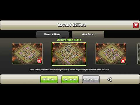 Clash of Clans | Trick to removing decorations from war base!