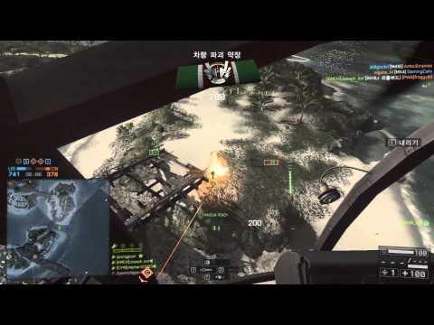 Battlefield 4 정헬/Scout helicopter paracel storm  76-10
