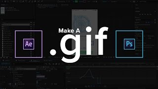 Faire des GIFs animés dans After Effects et Photoshop (2018)