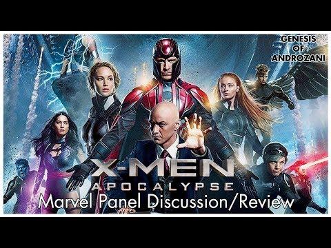 X-Men: Apocalypse - Marvel Panel Discussion/Review
