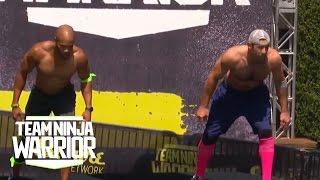 Season 2, Episode 10: Karsten Williams dominates Alan Connealy | Team Ninja Warrior