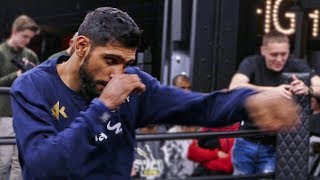 Amir Khan OFFICIAL PUBLIC WORKOUT vs. Terence Crawford | NYC