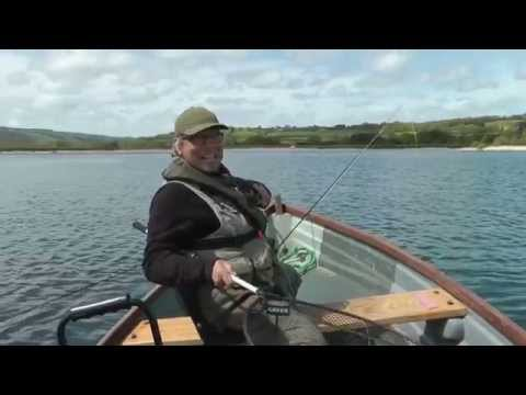 Fly Fishing For Trout On Chew Valley Lake  With ''The Earl Of Monkton And The Green Nymph''