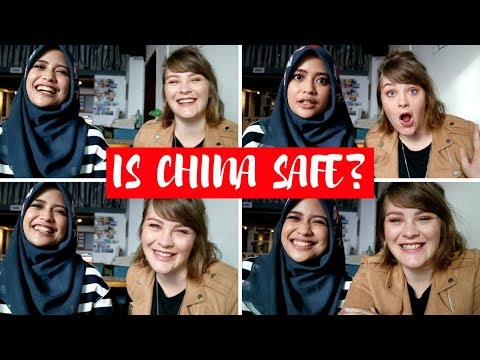 IS CHINA SAFE FOR SOLO FEMALE TRAVELERS?? // MUSLIM AND EUROPEAN GIRL PERSPECTIVES