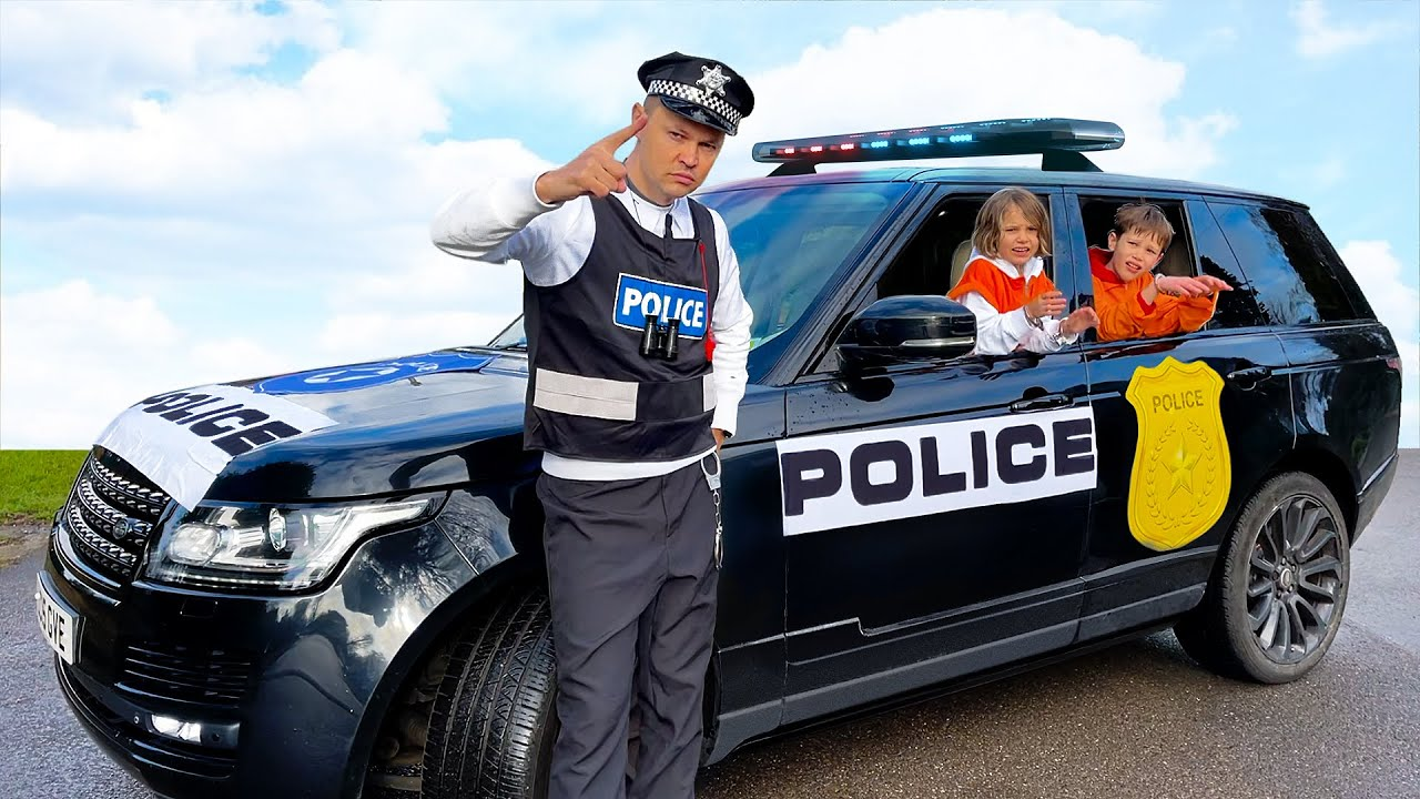 Макс и Катя убегают от полиции