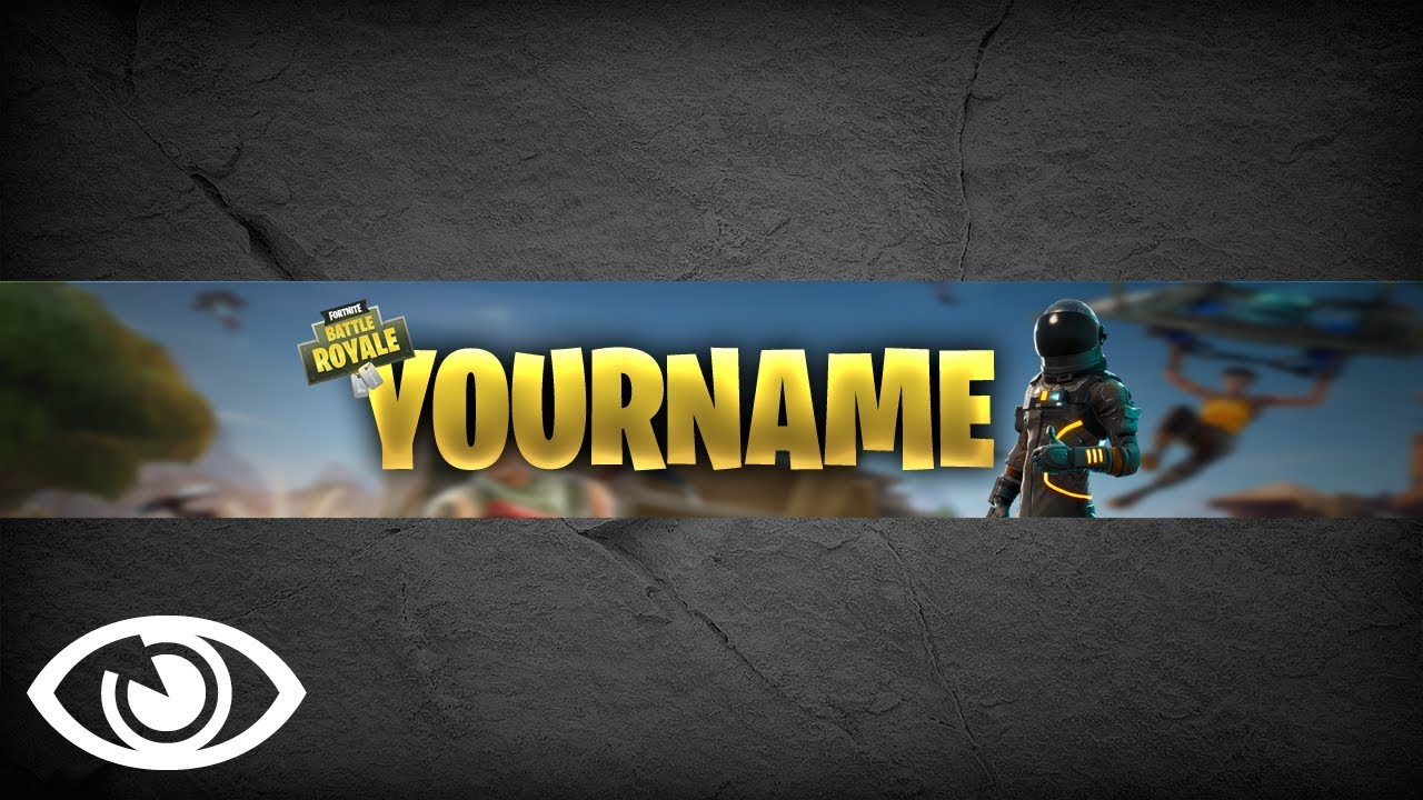 Battle Royale Fortnite Banner 1 Psd Photoshop Graphics No Copyright Media Free Download
