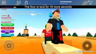 Below is LAAAAVAA! Roblox
