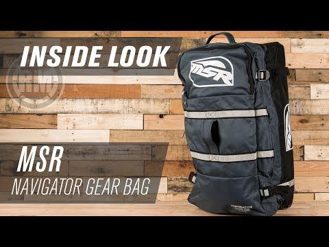 MSR Navigator Motocross Gear Bag   Inside Look