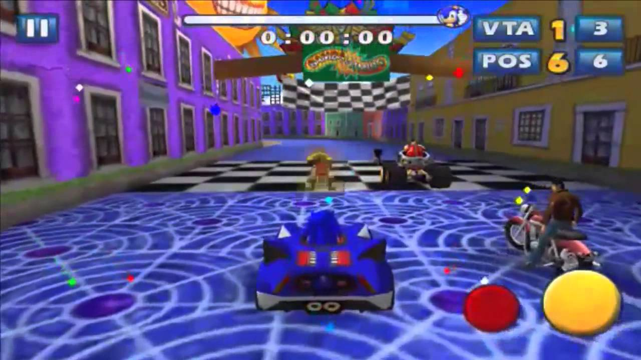 Sonic & SEGA All Stars Racing Para Android - YouTube