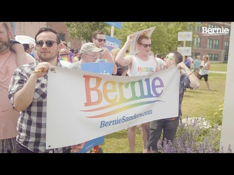 Sanders invokes vote against DOMA in video highlighting LGBT support