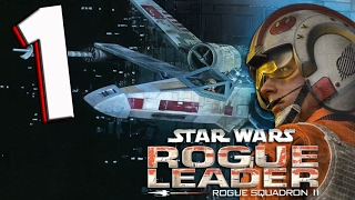 STAR WARS Rogue Leader: Part 1 Death Star Assault BATTLE of Yavin