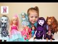 Кукла БАРБИ Куклы МОНСТЕР ХАЙ и ФЕИ ВИНКС Одежда для кукол Видео и игры для девочек