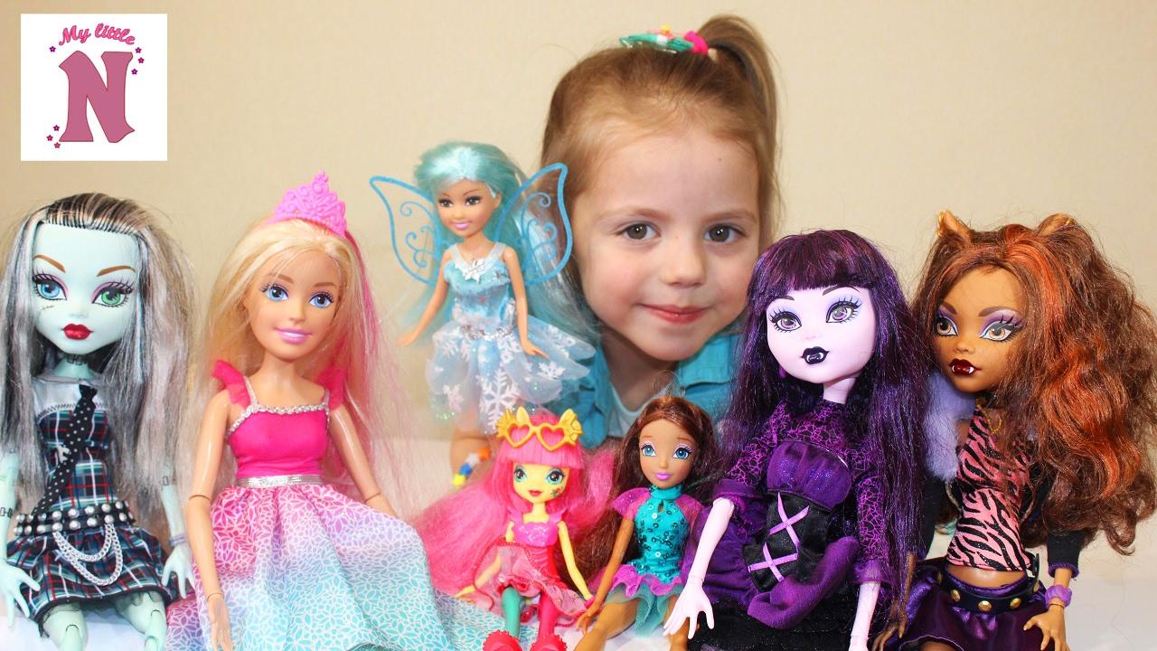 Видео как кукле сделать одежду фото 462