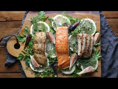 How To Cook Fish 3 Ways: Sautéed, Salt Block And Grilled | The Inspired Home
