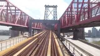 NYC Subway Jamaica-Nassau Line - Broad St to Jamaica Center Local w/ R32s + R42