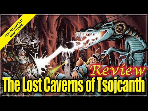 AD&D Review - The Lost Caverns Of Tsojcanth