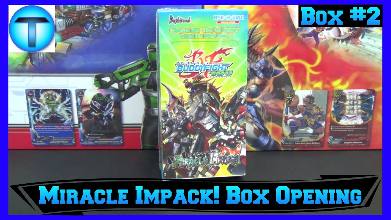 Future Card Buddyfight Hundred Miracle Impack Extra Booster Box Opening #2